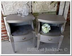 diy metallic furniture. silver painted furniture diy metallic d