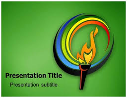 Olympic Wrestlings Powerpoint Templates Powerpoint