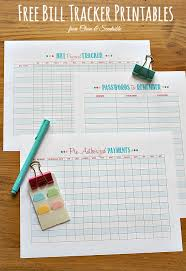 How To Organize Bills Clean And Scentsible