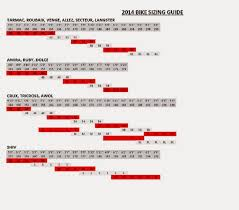 Specialized Size Chart 2013 All About Road Bike Specialized Road Bike Guide And Sizing
