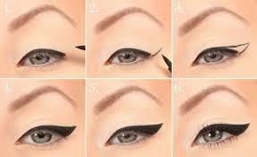 как нарисовать жирные стрелки на глазах как сделать красивые