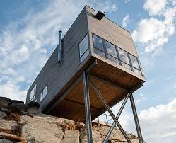 triangle cliff house by matthias arndt house on todos los santos lake by apio arquitectos