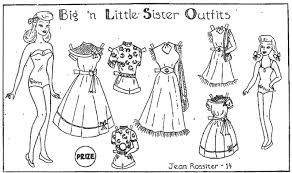 Barbie Paper Doll Coloring Pages For Kids Printable Coloring Page