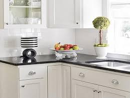 image of double white kitchen cabinets ideas for countertops and backsplash