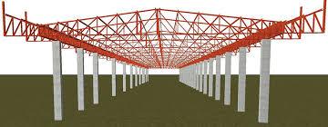A estrutura metálica permite um projeto mais moderno e econômico, além de reduzir o peso e aliviar as cargas na fundação, otimizando tempo e recursos financeiros do projeto. Projeto De Estrutura Metalica Para Galpao Aio
