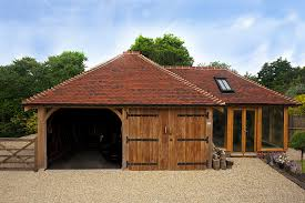 oak garages this multi purpose outbuilding consists of a two bay frame k45 used