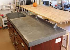 Pouring concrete counter tops Regarding Used Granite Countertops Poured Concrete Countertop Cost Kitchen Countertop Materials White Concrete Countertop Concrete Countertop And Sink In Single Tvidinfo Used Granite Countertops Poured Concrete Countertop Cost Kitchen