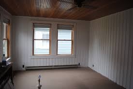 refresh your home by painting wood paneling  home design articles