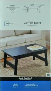 mainstays side table mainstay coffee table color rustic oak of mainstays coffee table org home tables on mainstays side table instructions