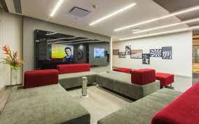 google mumbai office india. office mumbai common area google india