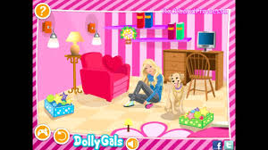 barbie games decorate barbie s bedroom game barbie house