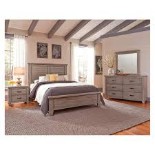 Cassell Park - Weathered Grey Bedroom Set Vaughan Bassett Furniture