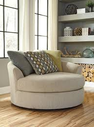 Oversized Living Room Chair Furniture Buy Casheral Linen Oversized Swivel Accent Chair By