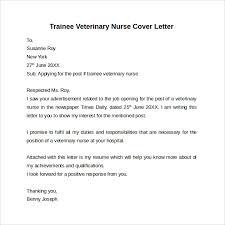 Vet Nurse Cover Letter Sample Adriangatton Com