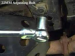 torsion key adjustment bolt. torsion bar adjustment key bolt l