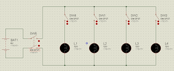 proteus tutorial switches and relays types screenshots circuit diagram for switch board connections example