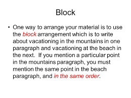 what s the difference a comparison essay is an essay in which you  3 block