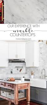 a detailed experience from a family with marble kitchen countertops should i use marble in