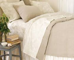 cone hill stone washed linen natural duvet covers bedding