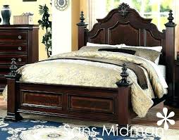 cherry wood bedroom set. Cherry Wood Bed Solid Bedroom Furniture Traditional King Size . Set