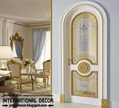 luxury interior doors for clic interior italian white door with glided decor