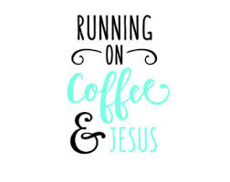 People talk to jesus while having coffee, and jesus always has the final word. Coffee Jesus Quote Etsy