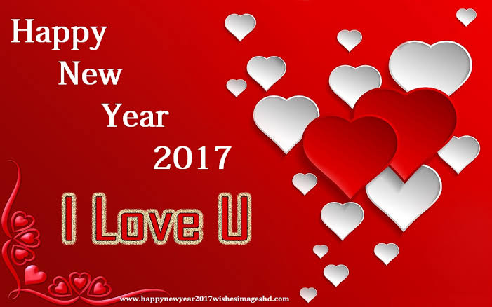 happy new year 2017 sms love