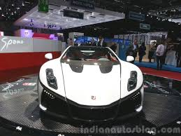 2015 GTA Spano front view at the 2015 Geneva Motor Show - Indian ...
