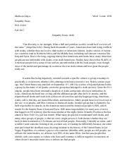 pol c politics of happiness u of a page course hero 3 pages empathy essay docx