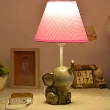 white lamp base nursery pink elephant bedding elephant nursery accessories baby bedside lamp