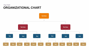 Organizational Chart Powerpoint Template Keynote Slide