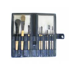 set of 9 make up brushes evs 09