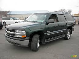2001 Forest Green Metallic Chevrolet Tahoe LS 4x4 #5389339 ...