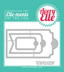 Avery Gift Tags Avery Elle Elle Ments Die Gift Tags