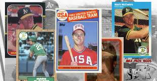Maybe you would like to learn more about one of these? Mark Mcgwire Rookie Cards The Big 5 Wax Pack Gods