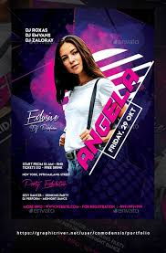 Flyer Backgrounds Psd Guest Dj Party Flyer Template Psd Easy To Use All Text Editable
