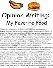 write about junk food