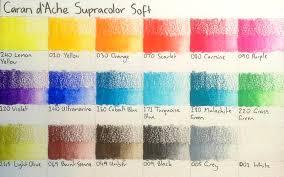 Pencils Caran Dache Supracolor Soft Watersoluble Pencils