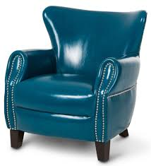 blue leather chair. Chair Aico Studio Space Ladon Leather Accent In Teal Blue St Trends Including Pictures Chairs L