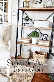 i must admit i am a huge fan of open shelves open shelves are such a fresh and updated look for almost any home and they add so much visual weight and