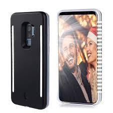 Light Up Samsung S9 Case Amazon Com Qwifey Selfie Light Up Case For S9 S9 Led