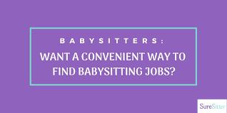 Find Babysitting Jobs In Your Area Suresitter Hashtag On Twitter