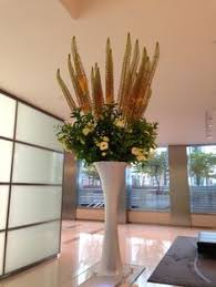office floral arrangements. A Corporate Office Floral Arrangement With A Crown Of Eremus Alongside  Lisianthus And Fresh Greenery # Arrangements