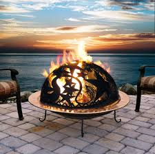 image of outdoor fire pit burners