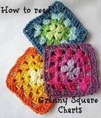 Basic Granny Square Pattern Impressive Little Treasures How To Read Granny Square Charts