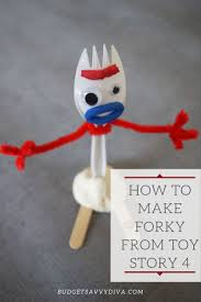 How To Macke How To Make Forky From Toy Story 4 Budget Savvy Diva