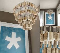 a wine cork chandelier what to do with old