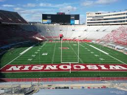 Wisconsin Camp Randall Seating Chart Camp Randall Stadium Section Yz Rateyourseats Com