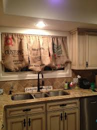 homely idea rustic kitchen curtains designs