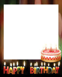 birthday collage frame png